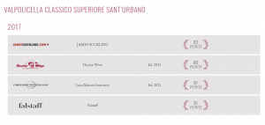 Classico superiore Wijnhandel Valgatara beglie Gambero Rosso Vini ditalia