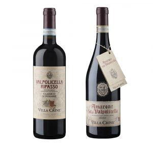 Valgatara PROMO Pack : VILLA CRINE Amarone & Ripasso